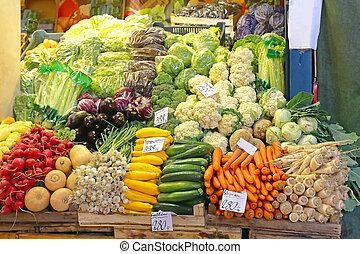 시장, 농부