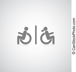 신체 장애자들, 상징