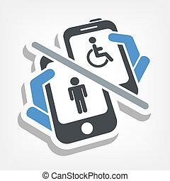 신체 장애자들, 장치