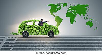 실업가, 에서, 지구 온난화, 개념