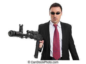 실업가, 총