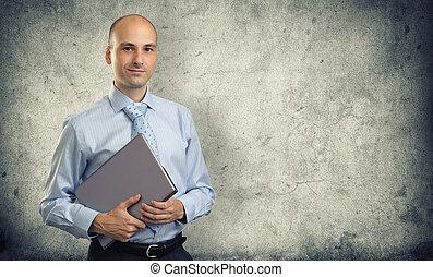 실업가, 휴대용 퍼스널 컴퓨터
