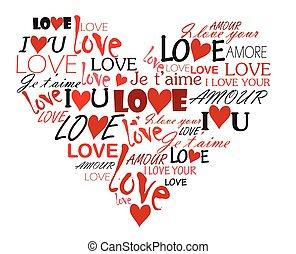 심장, 사랑