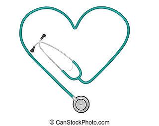 심장, 청진기