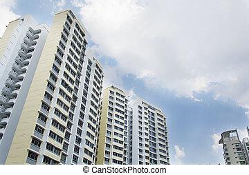 싱가포르, 정부, 아파트