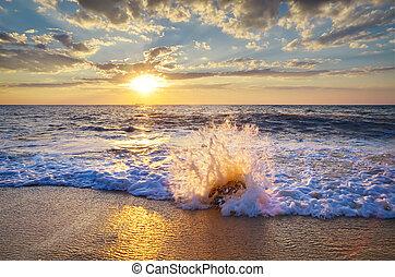 아름다운, 바다 경치