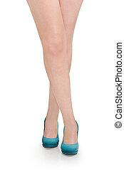아름다운 여성, 다리