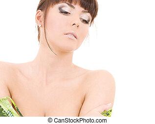 아름다운 여성
