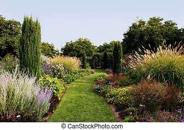 아름다운, 정원
