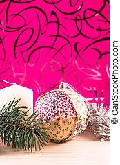 아름다운, 크리스마스, 그림