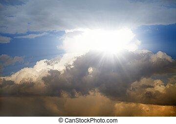 아름다운, 하늘