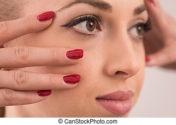 아름다움 온천, 여성 초상