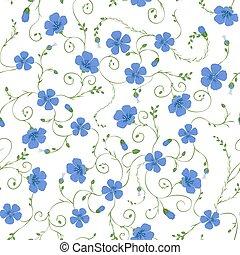 아마, 꽃의, seamless, 패턴