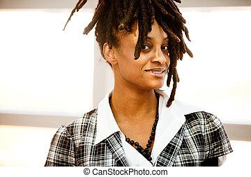 아메리카 흑인 여자