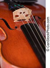 아물다, 바이올린