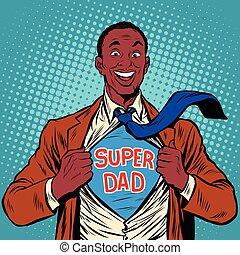 아빠, 미국 영어, 최고, 즐거운, african