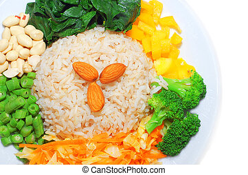 아시아 사람, 접시