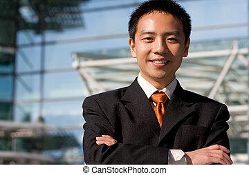 아시아 사람, 중국어, 사업가
