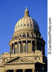 아이다호, 주립의 주의사당 건물, 정부, 돔, 법률, 법률이 지정하는