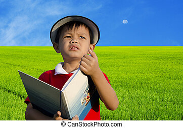 아이들, 독서