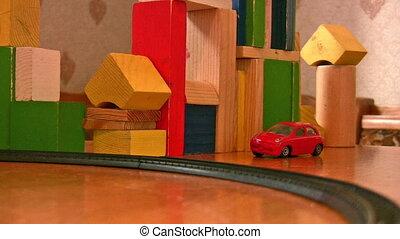아이, 놀이에, 기차