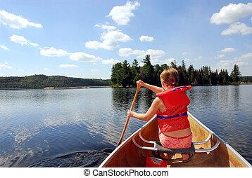 아이, 에서, 카누