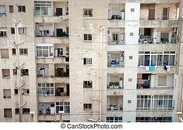 아파트, 에서, benidorm, 스페인