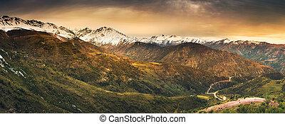 안데스 산맥, 높이