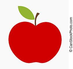 애플, 빨강, 아이콘