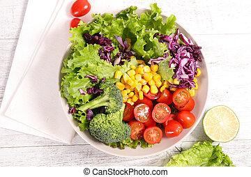 야채, 샐러드