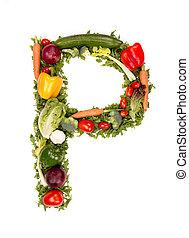 야채, 편지