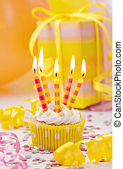 양초, 생일