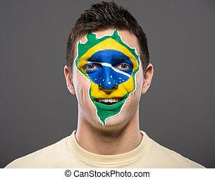 얼굴, art., flags.