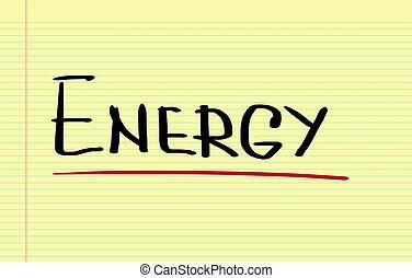 에너지, 개념