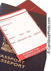 여권, 여행
