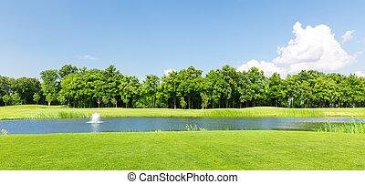 여름, 공원