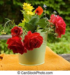 여름, 꽃