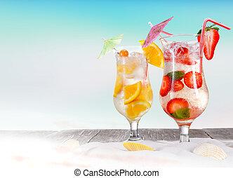여름, 은 마신다