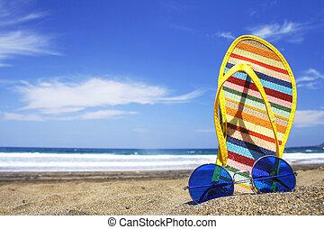 여름, 장면