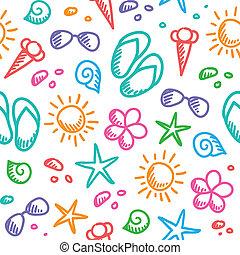 여름, 패턴