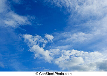 여름, 하늘