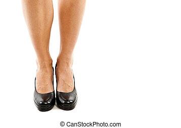 여자, 다리