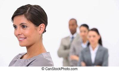 여자 실업가, 동료