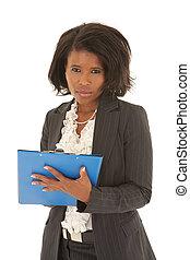 여자 실업가, 십대 후반의 청소년