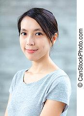 여자, 아시아 사람