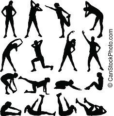 여자, 운동시키는 것