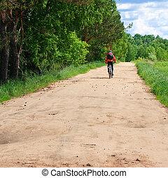 여행, 자전거 타는 사람