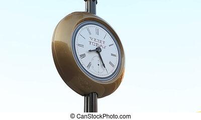 역사적이다, 거리, 시계