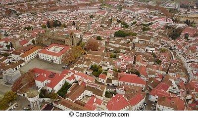 역사적이다, evora, 와, 거대한, 대성당, alentejo, 포르투갈