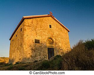 역사적인 건물, 에서, 남쪽